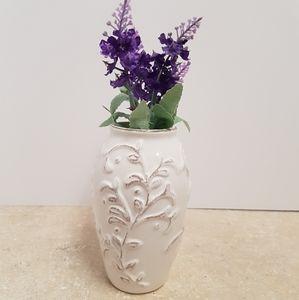 White Vine Vase